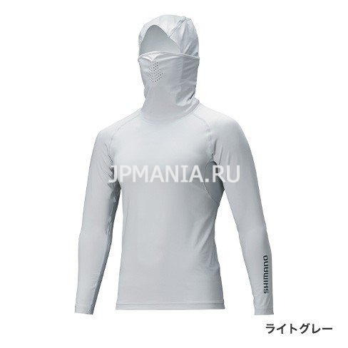 Shimano Sun Protection Long Sleeve Mask Shirt IN-063T на jpmania.ru